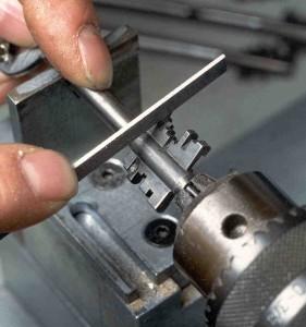 Tillverkning kassaskåpsnyckel